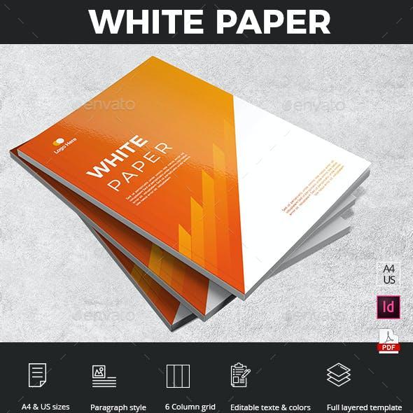 White Paper Brochure