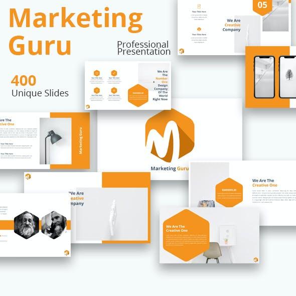 Marketing Guru Google Slides