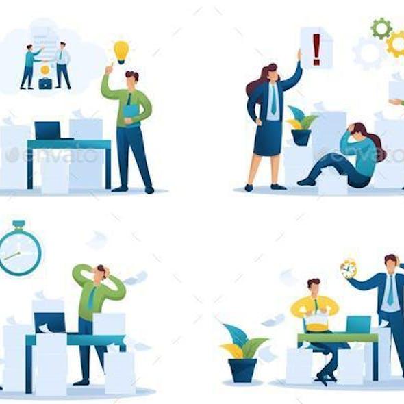 Set Flat 2D Concepts Problem Solution, Document Handling,  Deadline, Contract Cancellation