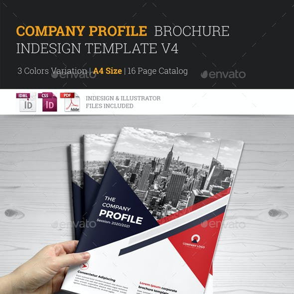 Company Profile Brochure Template v4