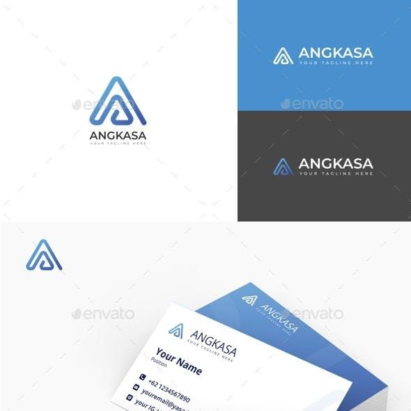 Angkasa - Letter A Logo
