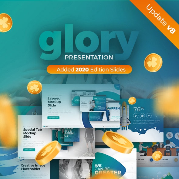 Glory Presentation Business Pack Powerpoint Template By