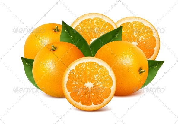 Oranges - Food Objects