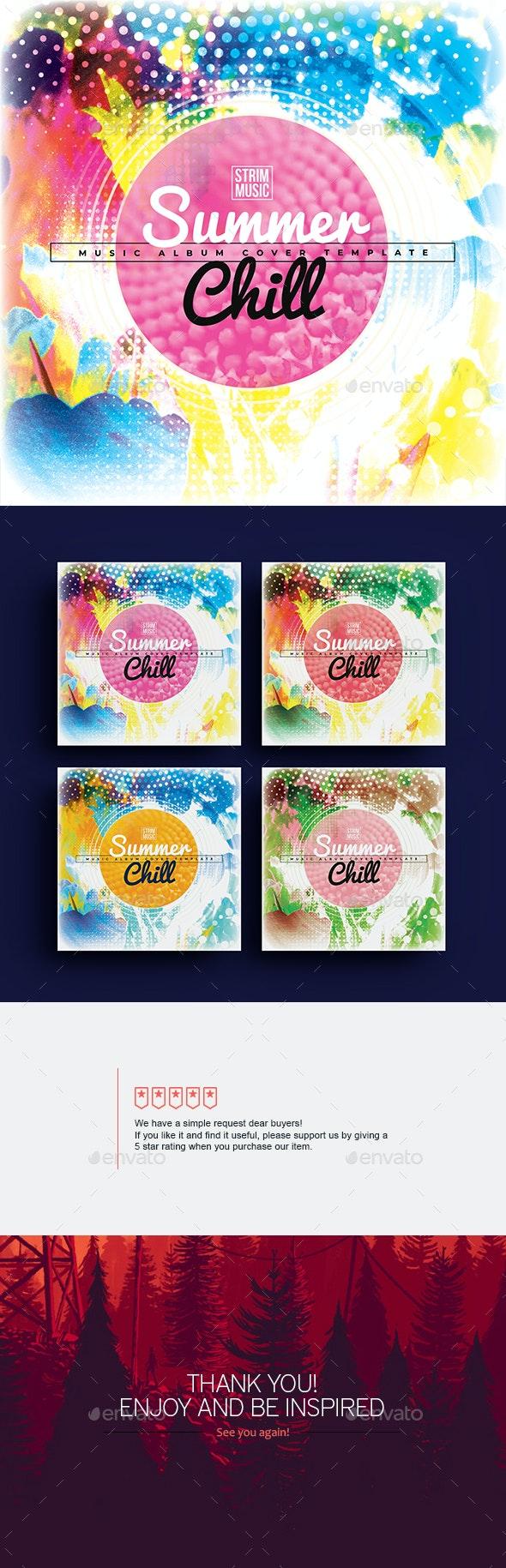 Summer Chill - Music Album Cover - Miscellaneous Social Media