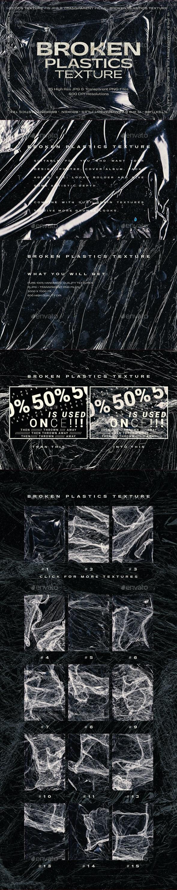 Broken Plastics Texture - Miscellaneous Textures