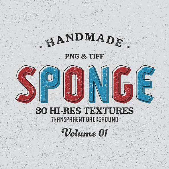 Sponge Textures - Vol. 01