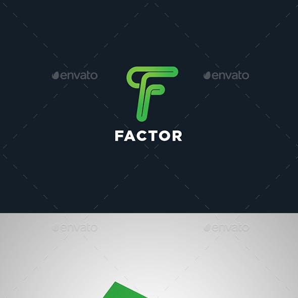 Elegant Letter F Logo