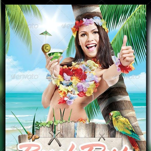 Summer Party Flyer Bundle