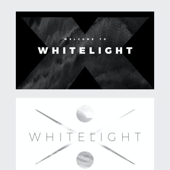 WhiteLight - Minimal Keynote Template