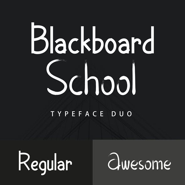 Blackboard School Duo
