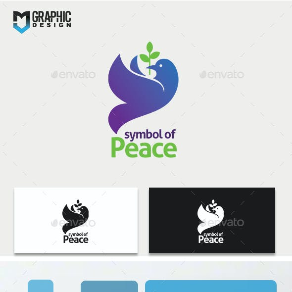 Symbol of Peace Logo