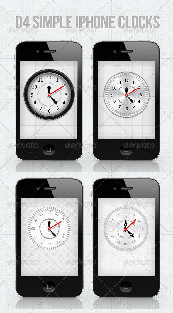 iPhone Clocks For Your Applications