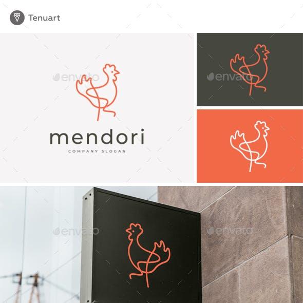 Mendori - Hen Logo