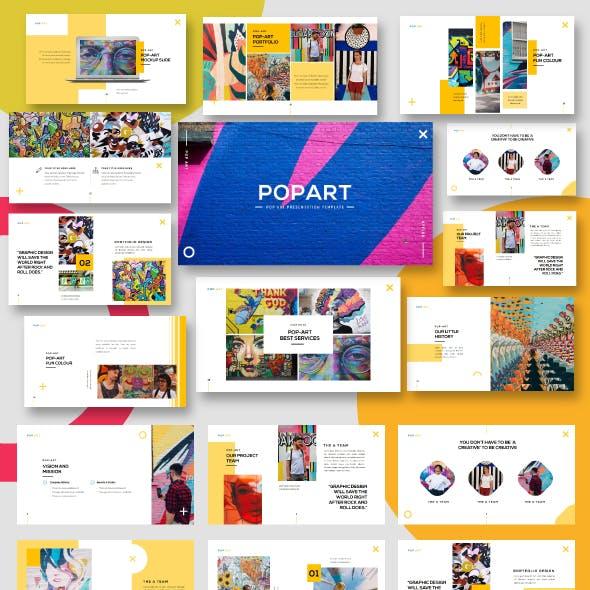 Pop Art - Business Googleslide Template