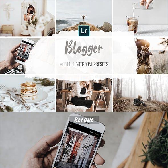 Mobile Lightroom Presets - Blogger