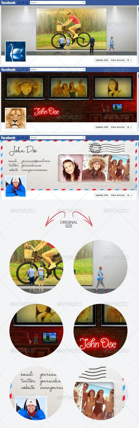 3 Creative Timeline Covers for Facebook - Facebook Timeline Covers Social Media