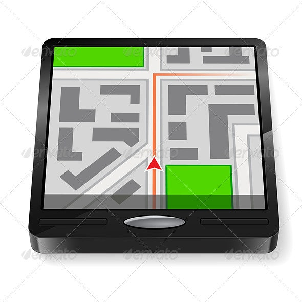 GPS navigator - Man-made Objects Objects