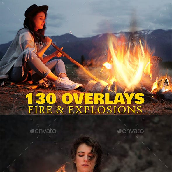 130 Fire & Fire Explosions Overlays