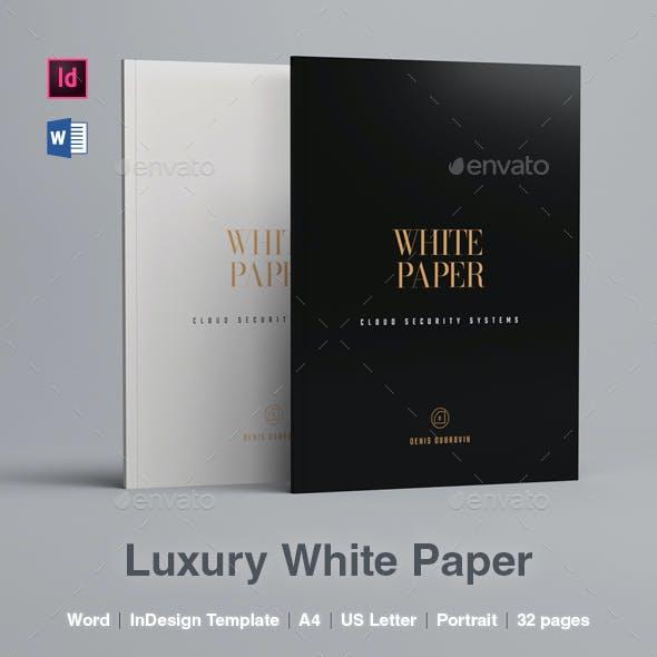 Luxury White Paper