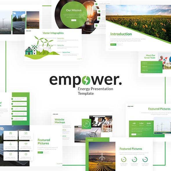 Empower Creative Ecology Multipurpose Keynote Presentation Template