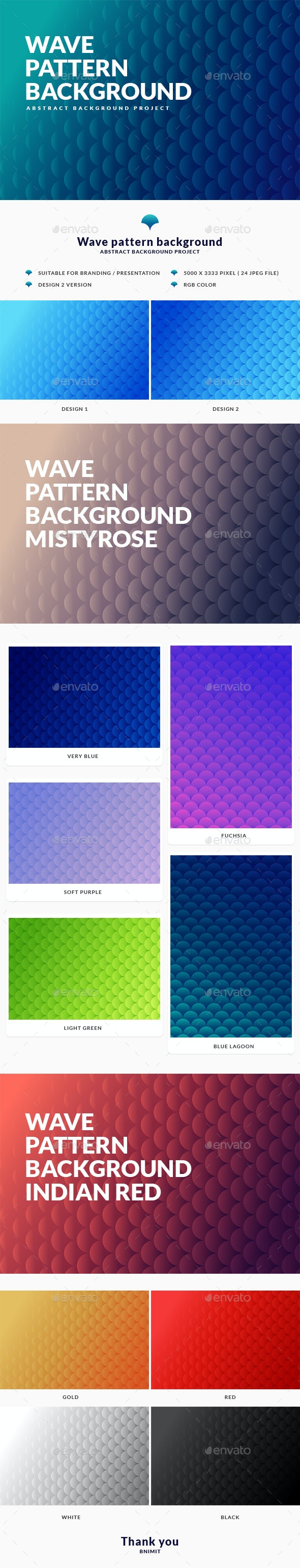 Wave Pattern Background - Business Backgrounds