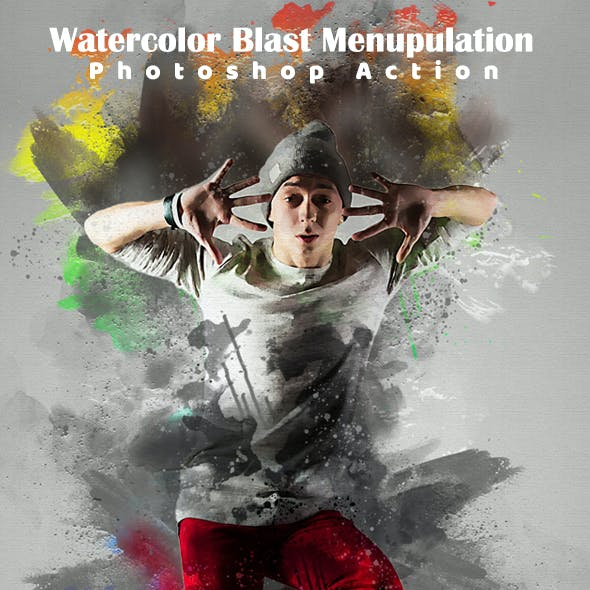 Watercolor Blast Manipulation