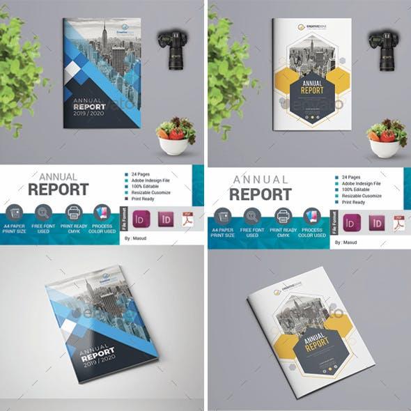 Annual Report Bundle 2 in 1