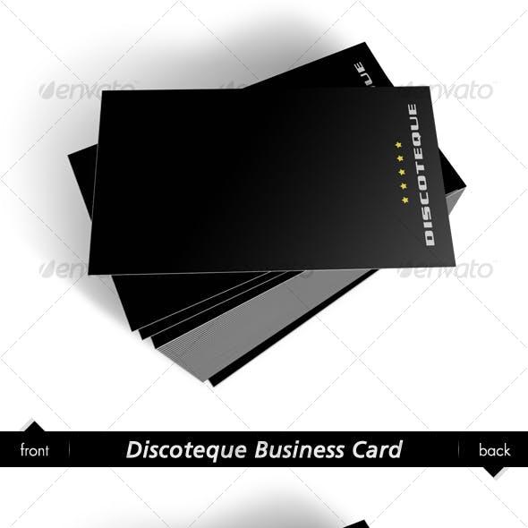 Discoteque Business Card