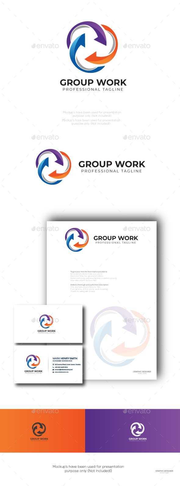 Group Work - Symbols Logo Templates