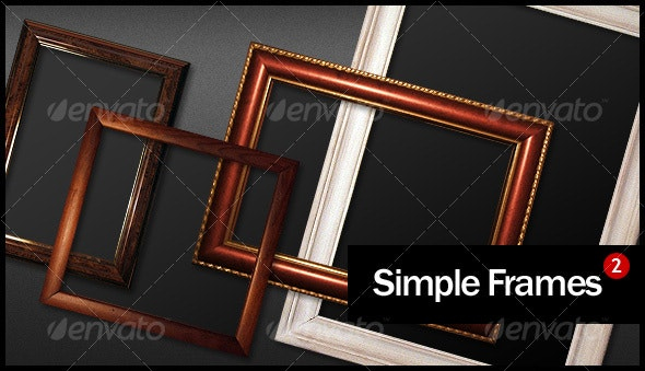 Simple Frames Pack 2 - Home & Office Isolated Objects