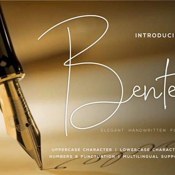 Bente Handwritten Script