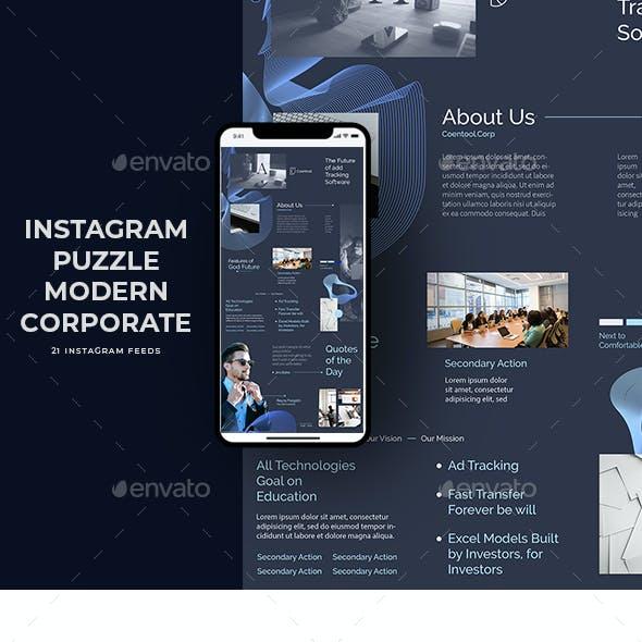 Instagram Puzzle Modern Corporate
