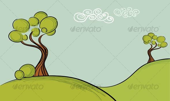 Trees landscape - Landscapes Nature