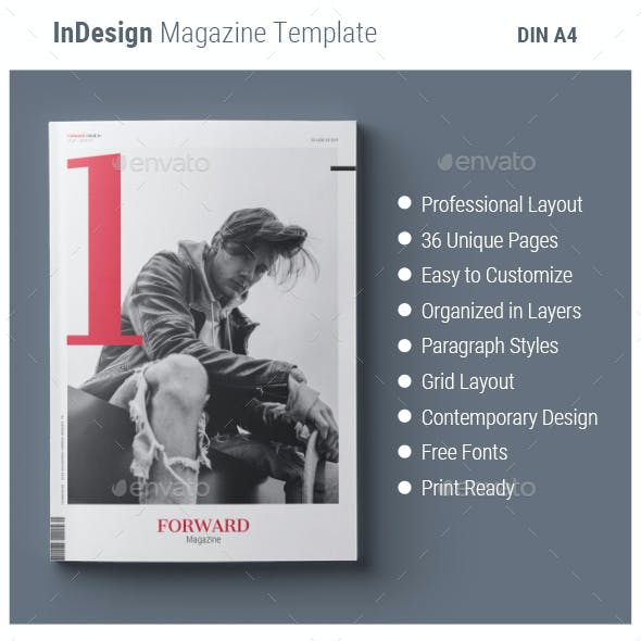 Magazine Template | Forward
