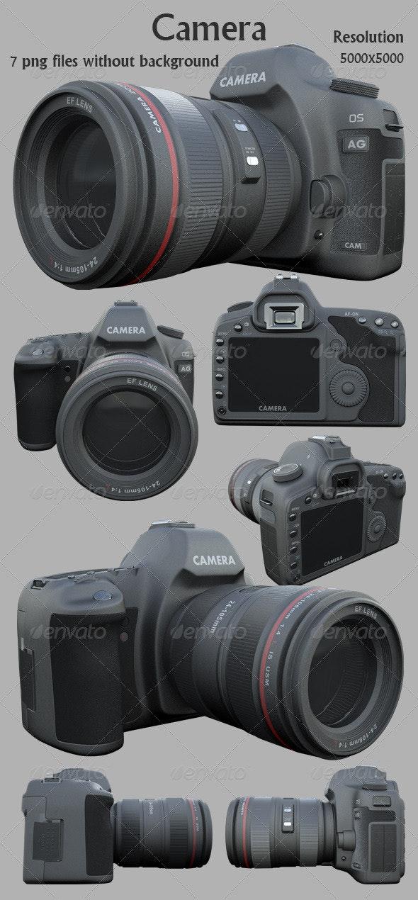 Camera 3D Render - Technology 3D Renders
