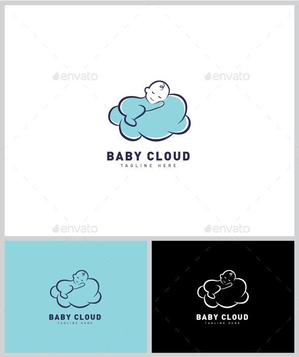 Baby Cloud Logo - Humans Logo Templates