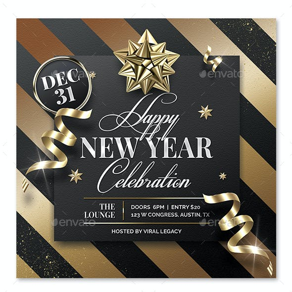 New Year Party Poster / Flyer V25