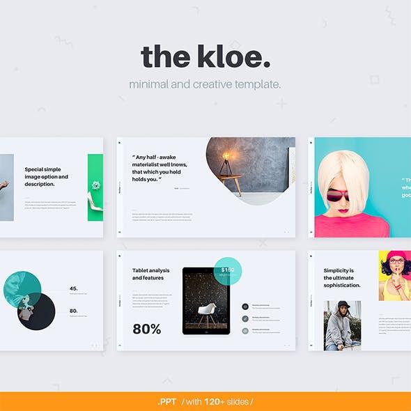 KLOE Minimal & Creative Template (Powerpoint)