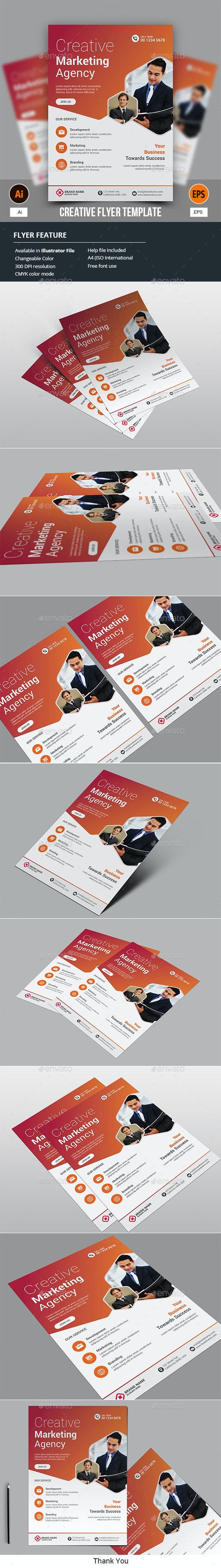 Creative Flyer Template - Corporate Flyers