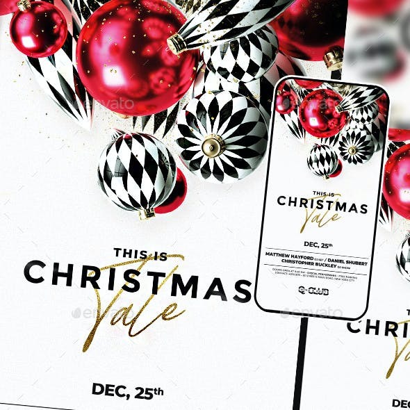 Christmas Baubles Flyer