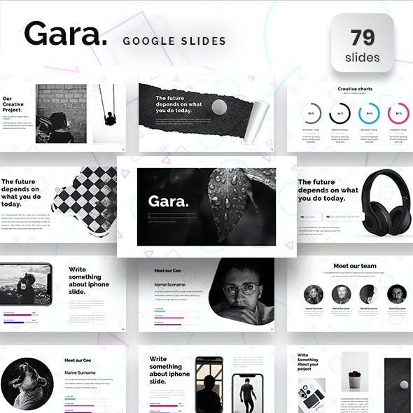 Gara Google Slide Template