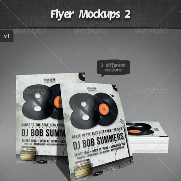 Flyer Mockups 2