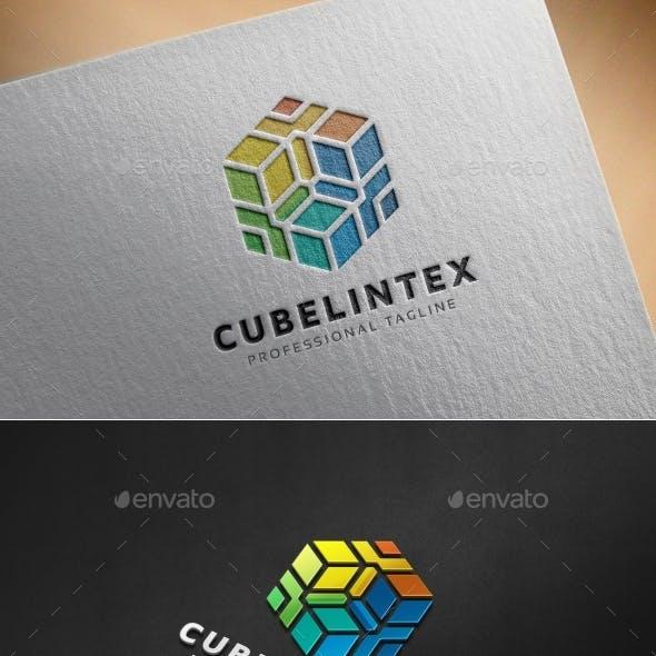 Cubelintex Hexagon Logo