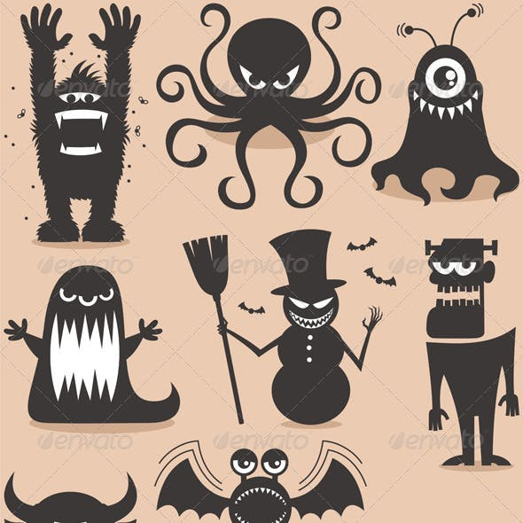 Silhouette Monsters
