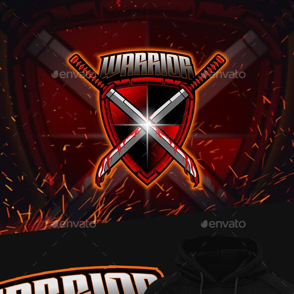 Warrior Esport Mascot Logo