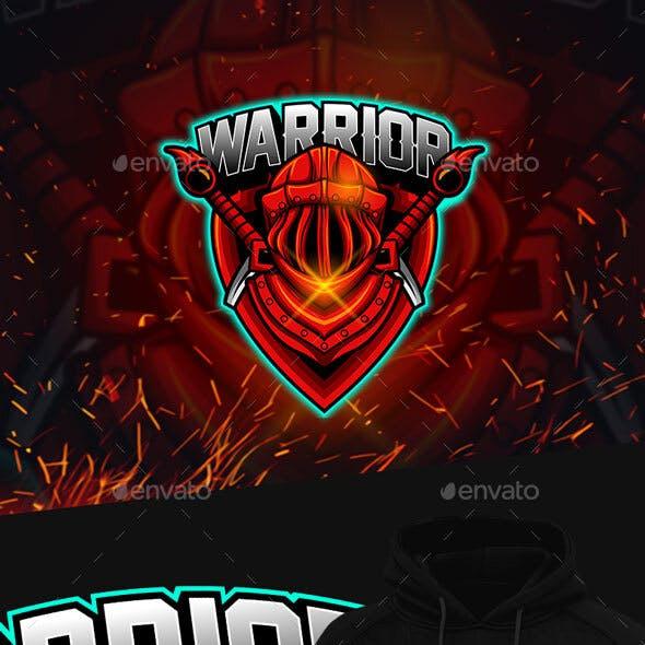Warrior Esports Mascot Logo