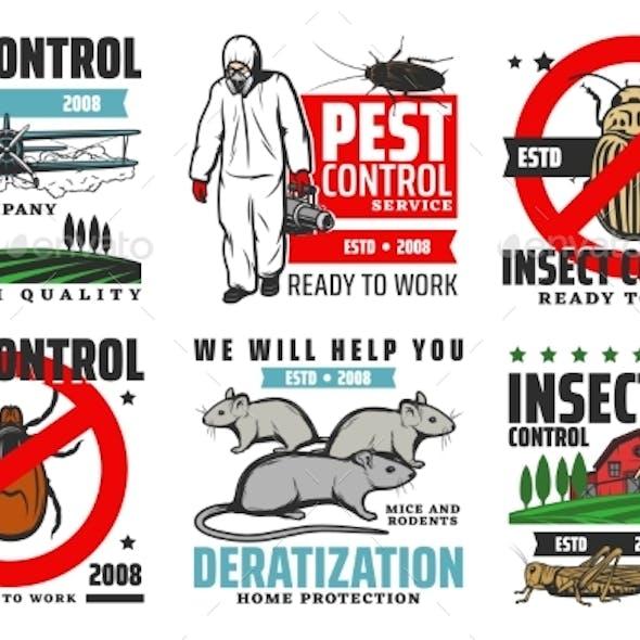 Professional Pest Control Extermination Service