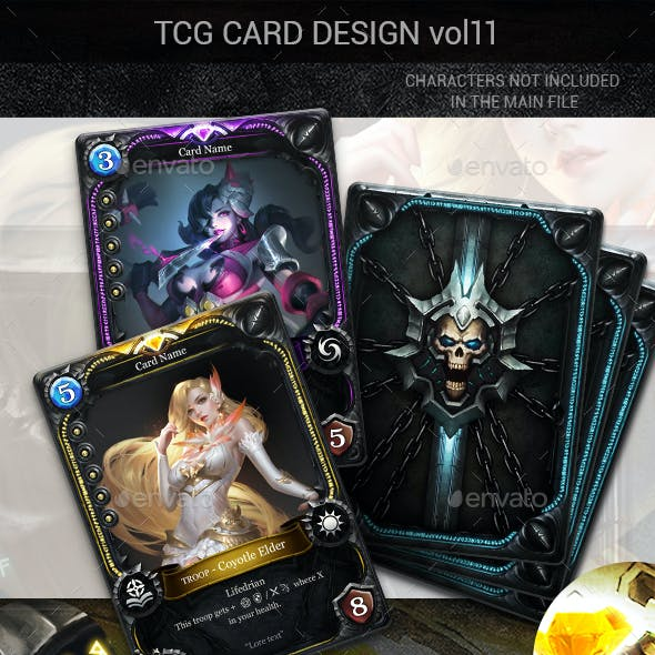 TCG Card Design Vol 11