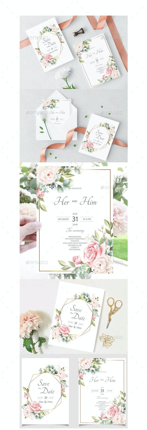 Wedding Invitation Cards - Weddings Seasons/Holidays