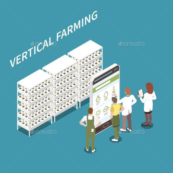 Vertical Farming Concept